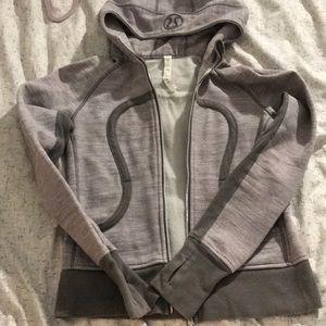 Lululemon scuba hoodie retired style size 8